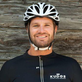 Anthony Walker of Kudos Cycling, Switzerland