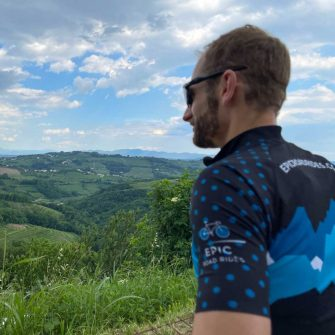 view from Smartno a great area for cycling holidays in slovenia