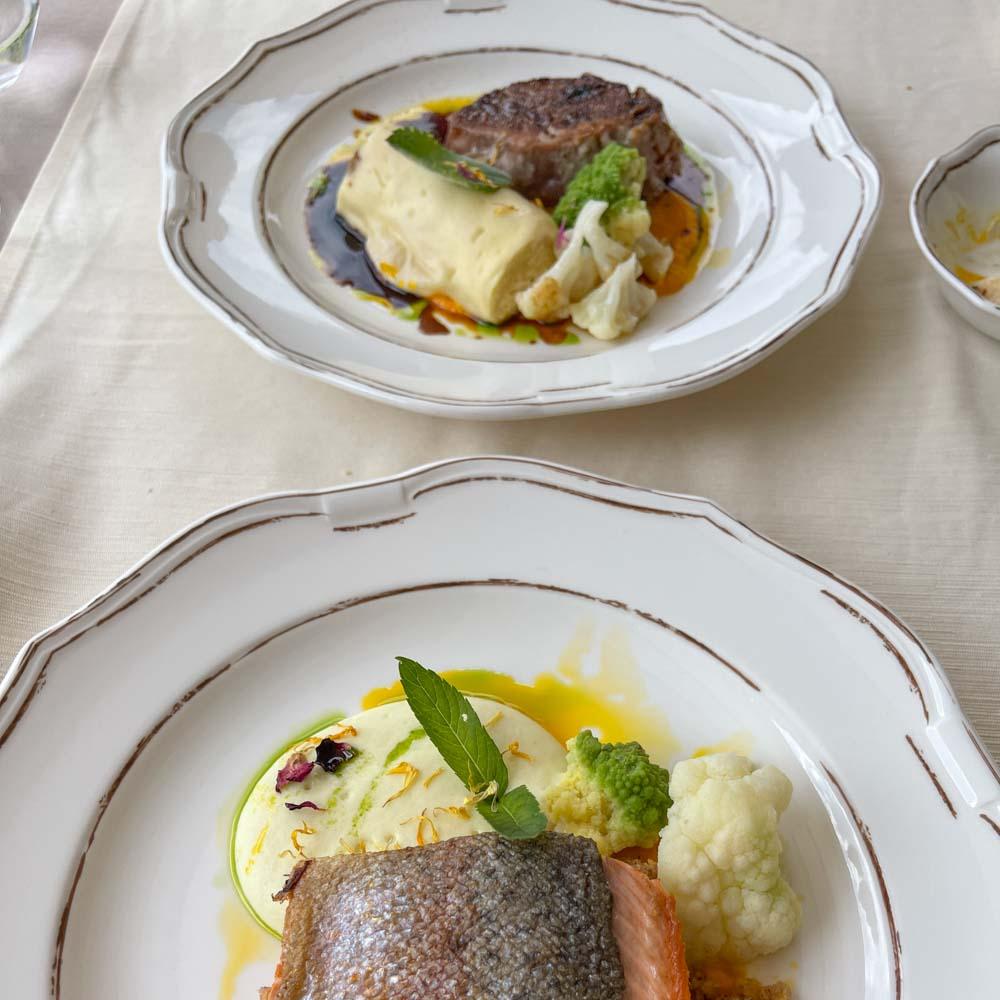 Lunch at Stara Fuzina Lake Bohinj