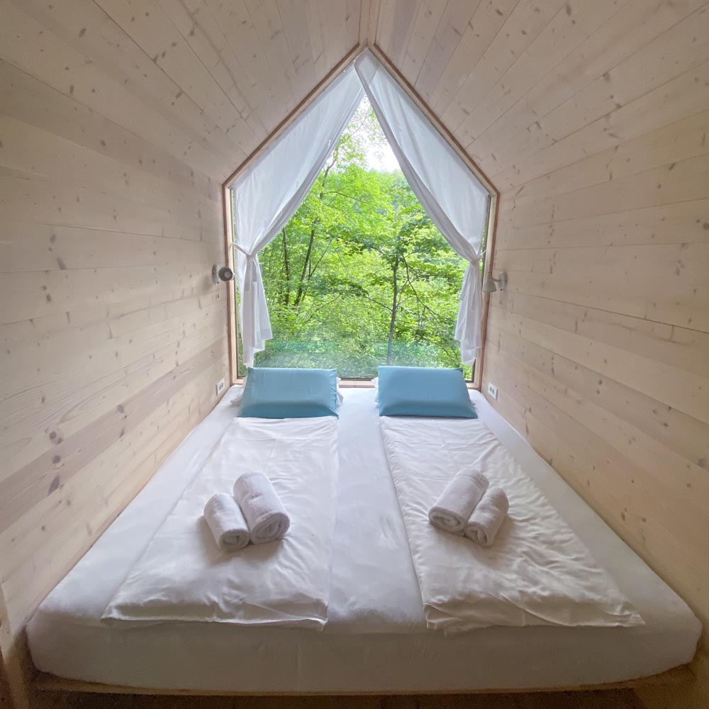 Glamping cottage, slovenia