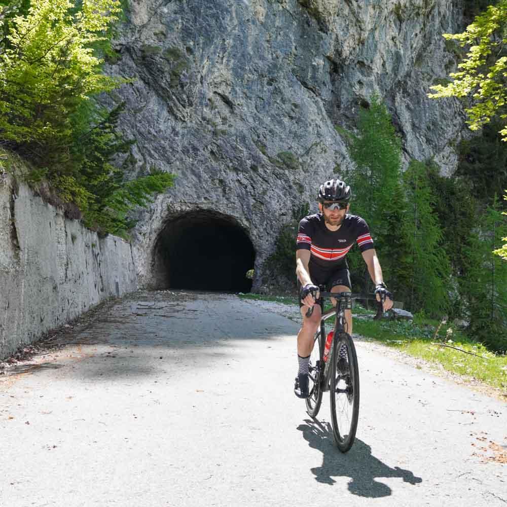 Tunnel on the Mangarts Saddle