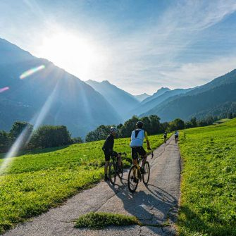 National cycle routes in Switzerland