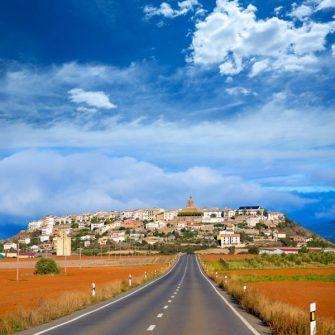 Berdun in Huesca Aragon Pyrenees of Spain
